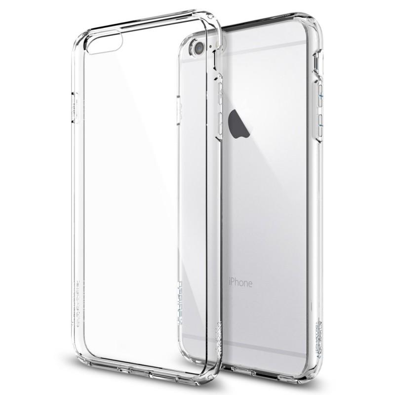 b44635613d0 Silikonový kryt (obal) pre Apple iPhone 6 a 6S - priesvitný