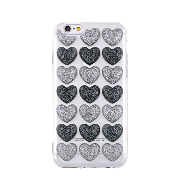 Kryt pre IPhone 6/6s PLUS Heart 3D