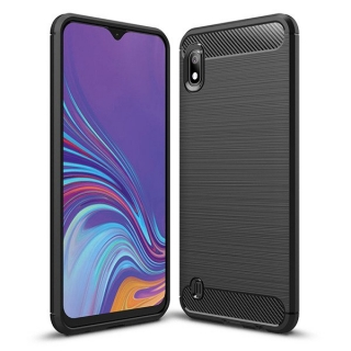 Samsung Galaxy A10 - obal na mobil Carbon