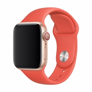 Devia Apple Watch Deluxe Series Sport Band (42 / 44mm) Oranžový