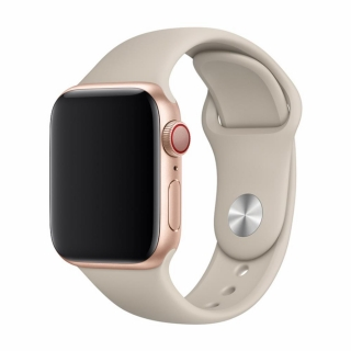 Devia Apple Watch Deluxe Series Sport Band (38 / 40mm) Hnedý